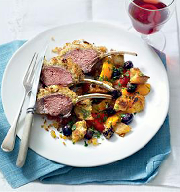 Rack of Lamb Salad