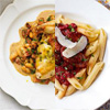 Tarragon Chicken and Spicy Sausage Penne